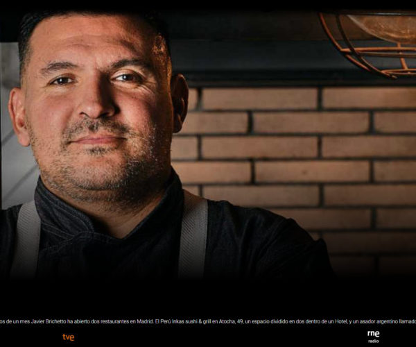Restaurante Piantao Madrid del Chef Argentino Javier Brichetto en RTVE