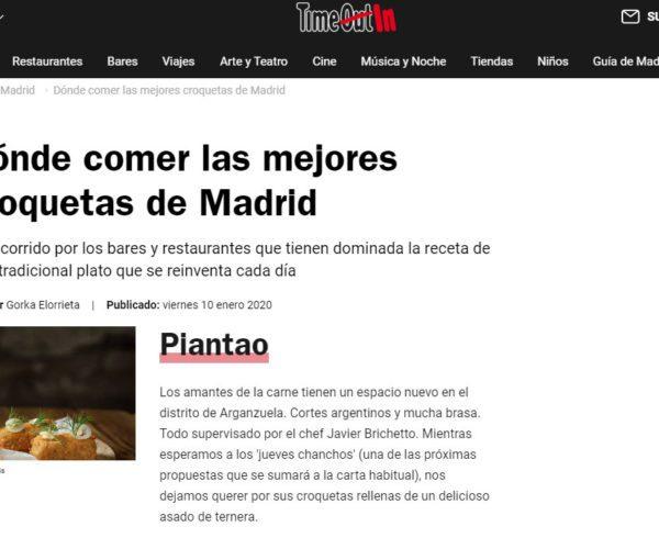 Restaurante Piantao Madrid del Chef Argentino Javier Brichetto en Time Out