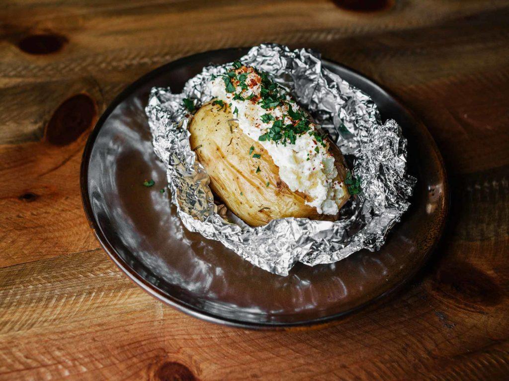 Patata del camionero. Restaurante Piantao.